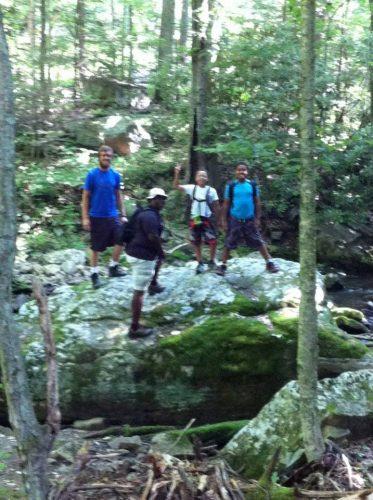 cascade waterfall hiking