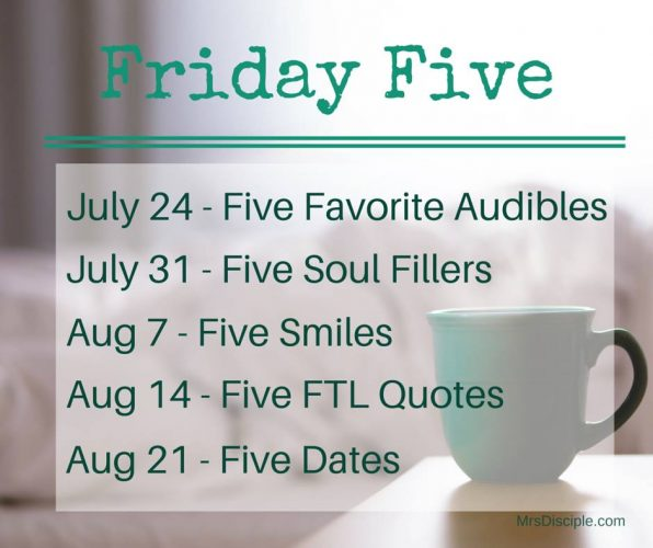 5 Friday Posts