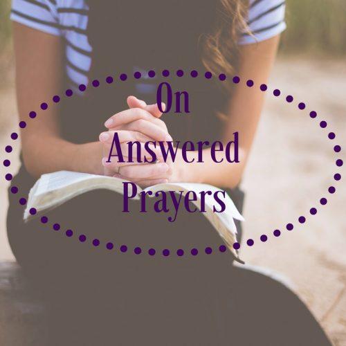 On Answered Prayers