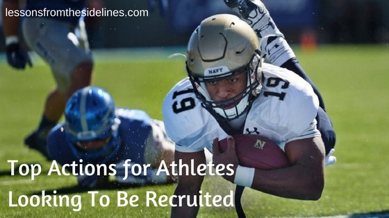 Top Actions for Athletes Looking To Be Recruited