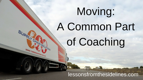moving a common part of coaching