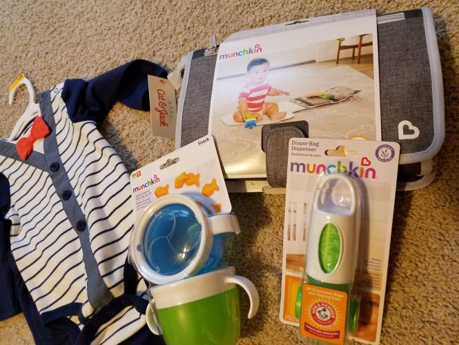 game day favorites for the diaper bag