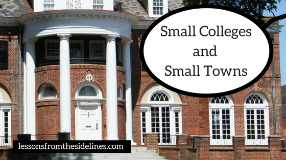 Small Colleges and Small Towns