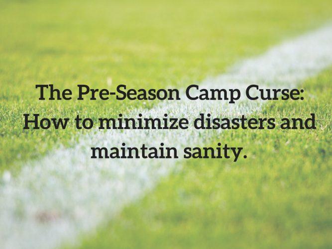 Pre-Season Camp Curse