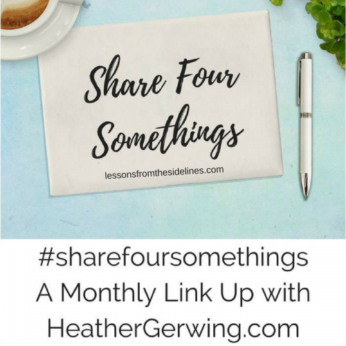 share four somethings december 2018