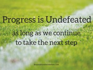 Progress is Undefeated