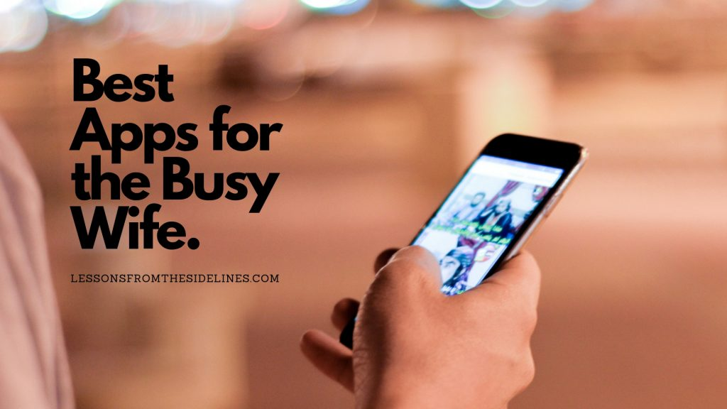 Best Apps for the Busy Wife -Coaches Wives