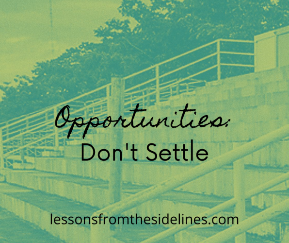 On Opportunities