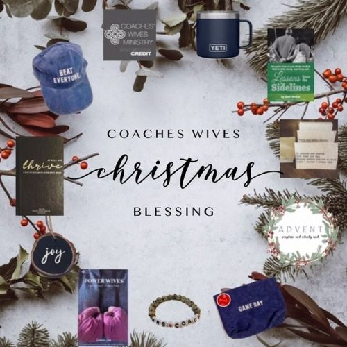 Coaches Wives Christmas Blessing
