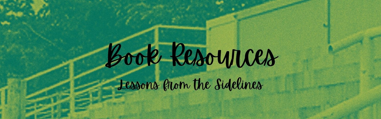 Book Resources Lessons from the Sidelines