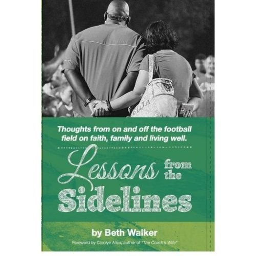 lessons from the sidelines book cover