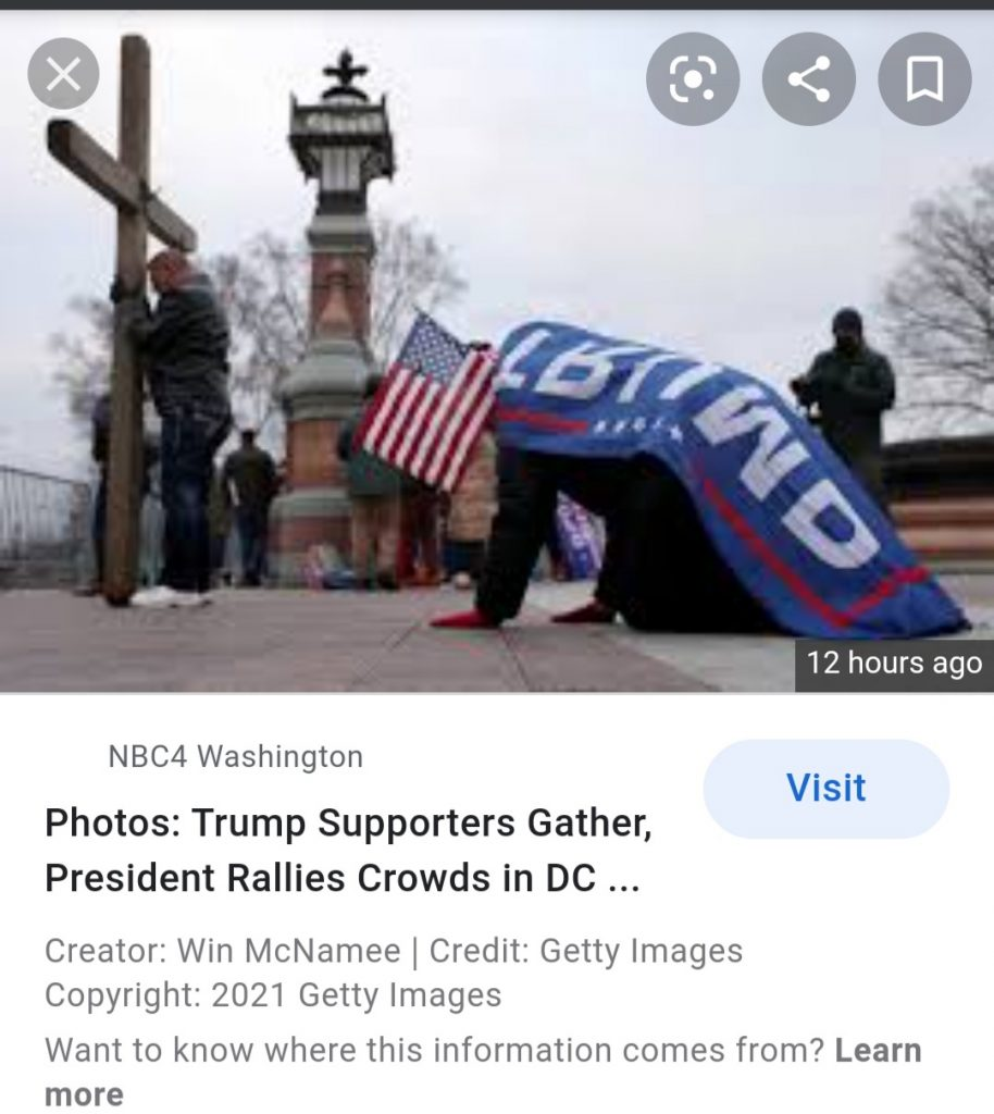McNamee Credit Getty Image Copy Right 2021 Getty Image NBC 4 Washington Trump Worship at it's height.