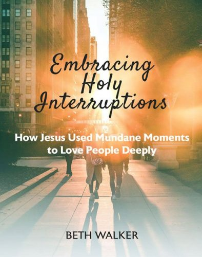 Embracing Holy Interruptions book cover